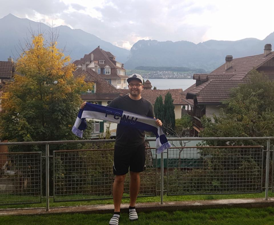 Fangrüße vom Thunersee im Berner Oberland, Schweiz!