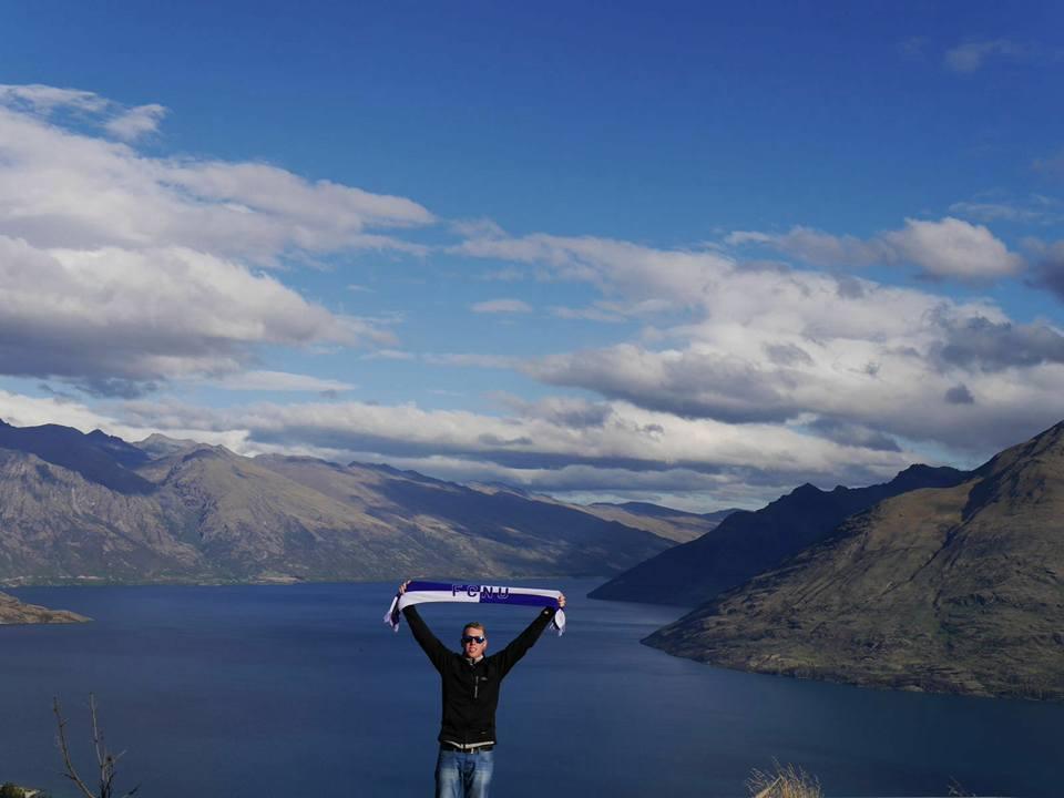 Fangrüße vom anderen Ende der Welt aus Queenstown, Neuseeland!