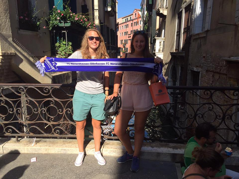 Fangrüße aus Venedig, Italien!