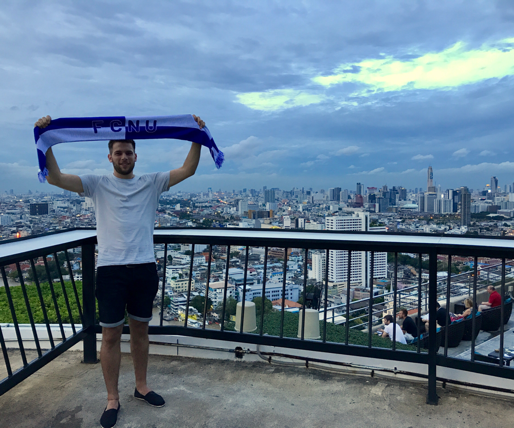 Fangrüße aus Bangkok, Thailand!