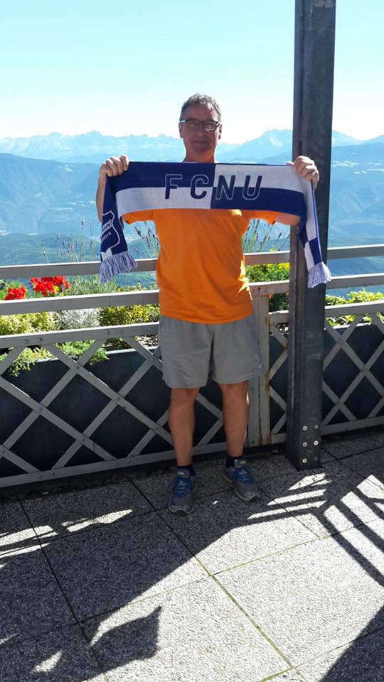 Fangrüße vom Mendelpass in Südtirol, Italien!