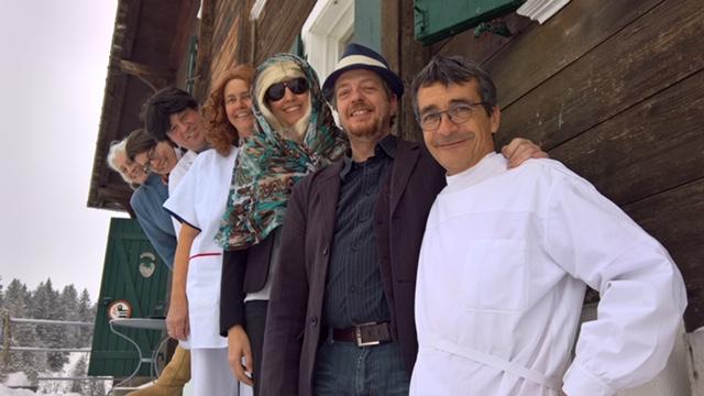 vlnr. Esther Feuz, Mariela Josi, Res Eggler, Brigitte Boss, Andrea Merkofer, Thierry Ueltschi, Andi Widmer