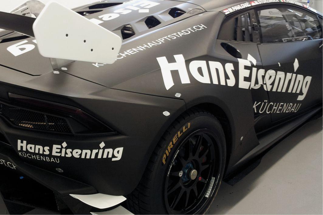 Lamborghini Huracan Folierung 3M 1080 M12 schwarz matt