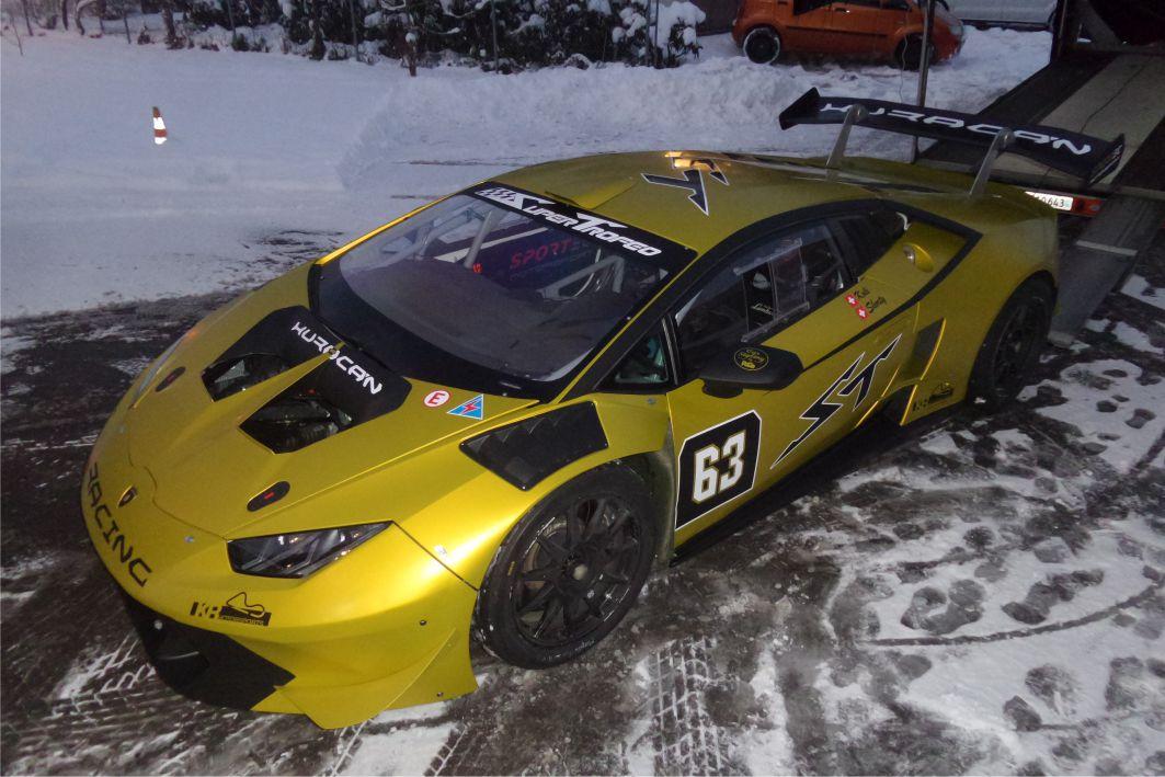 Lamborghini Huracan Folierung 3M 1080 S335 San Bitter Yellow