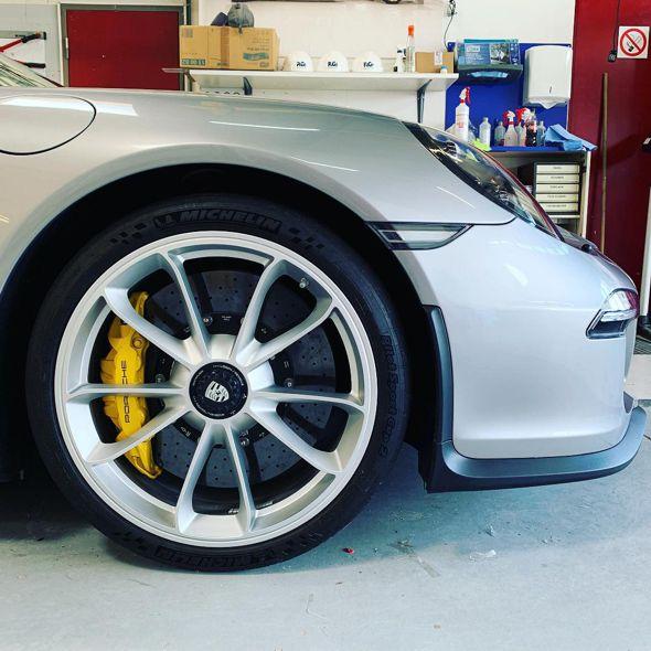 Porsche Lackschutz Folie