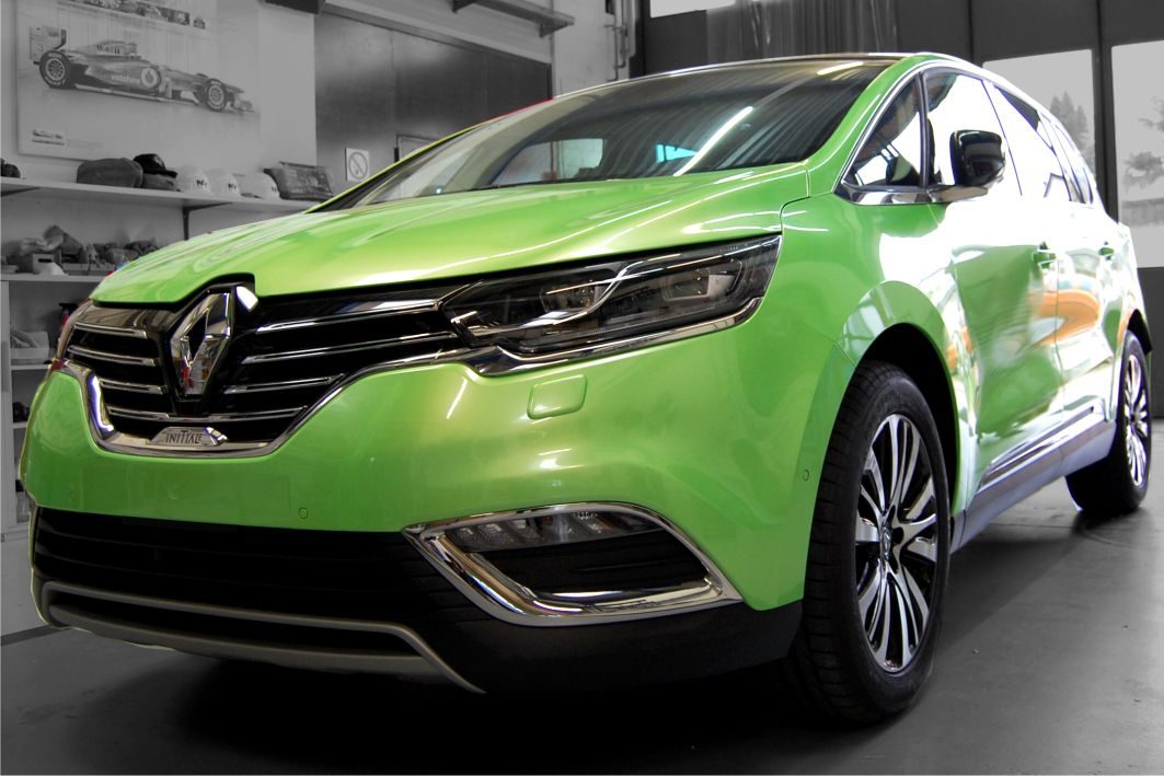 Renault Initiale Folierung Avery Pearl Light Green