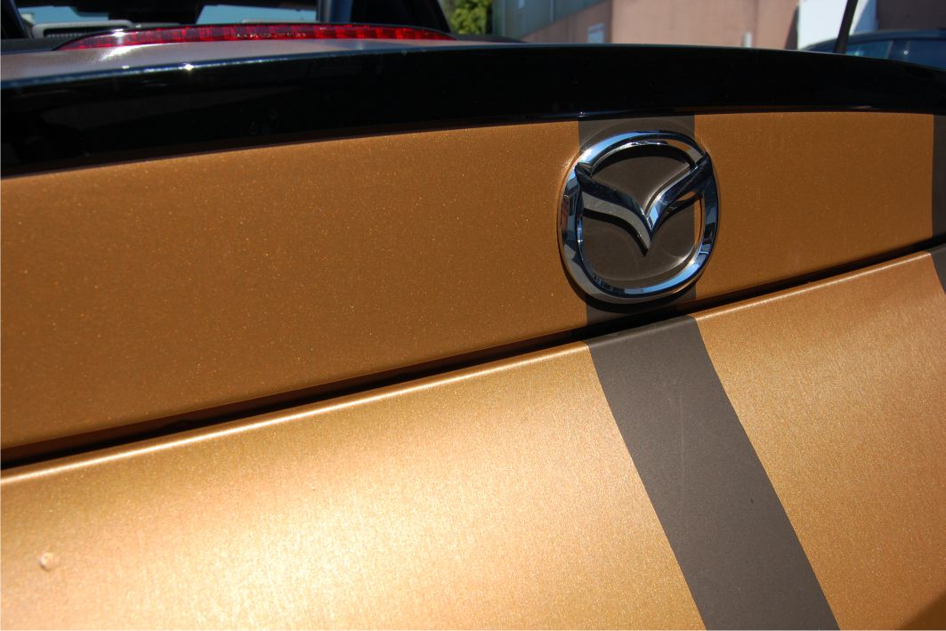 Mazda MX5 Folierung 3M 1080 M209 Matte Brown Metallic