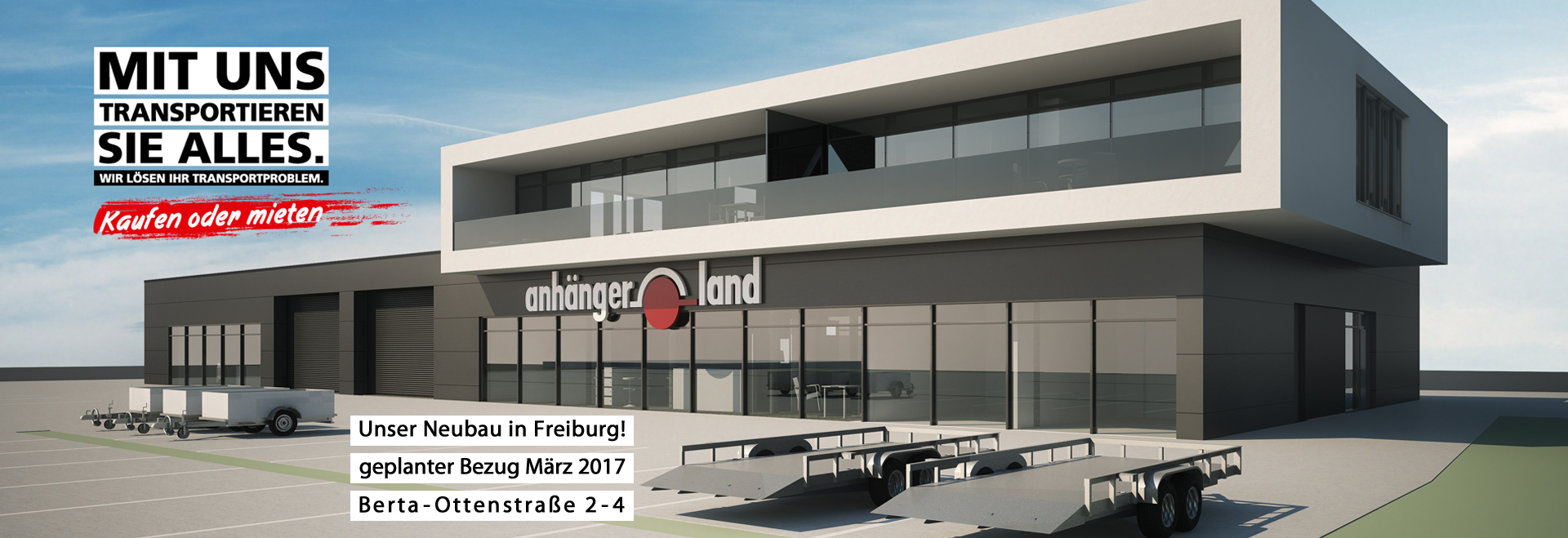 Anhängerland Freiburg I CARRÉ Planungsgesellschaft mbH