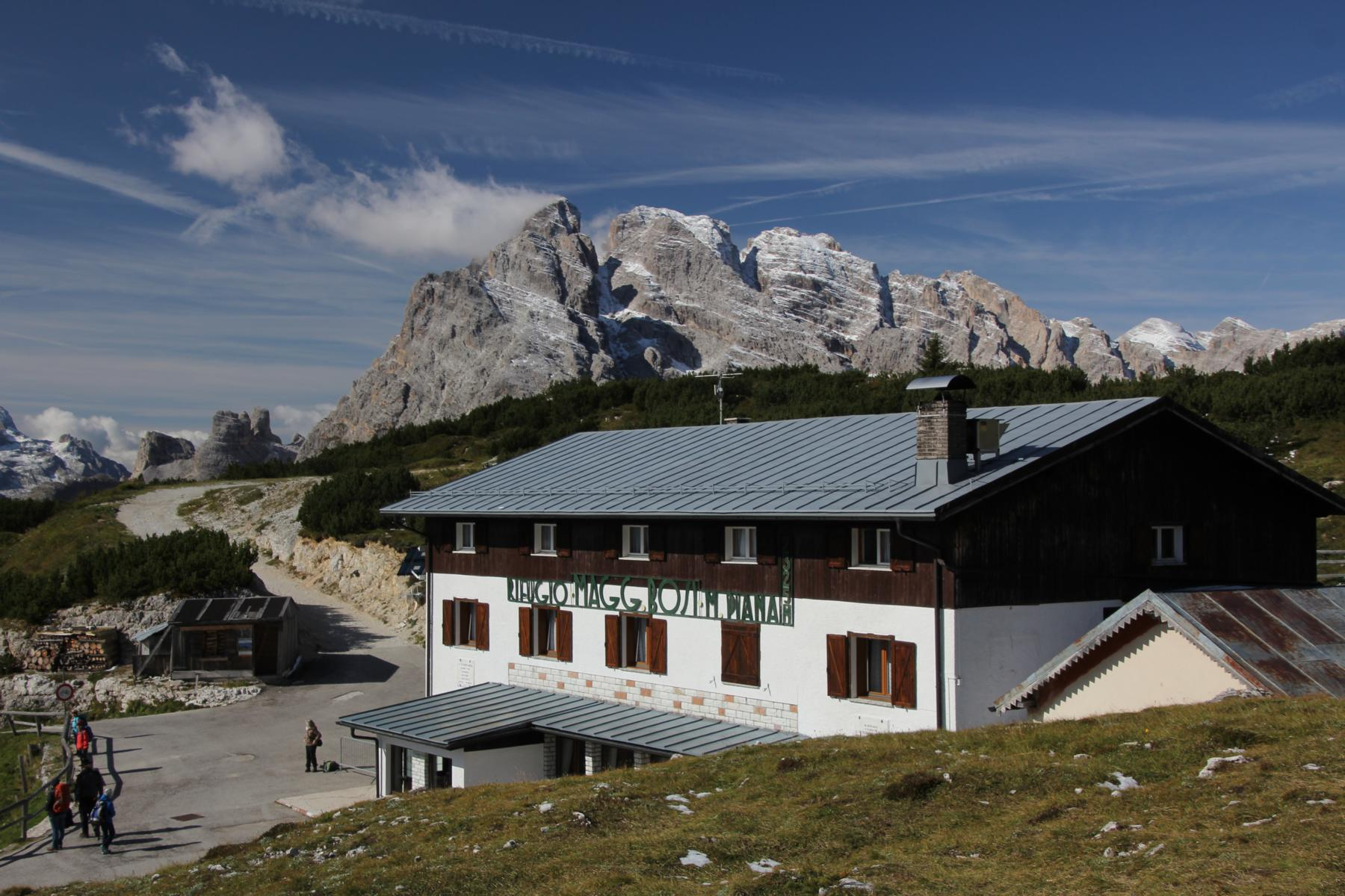 Bosi Hütte am Monte Piana