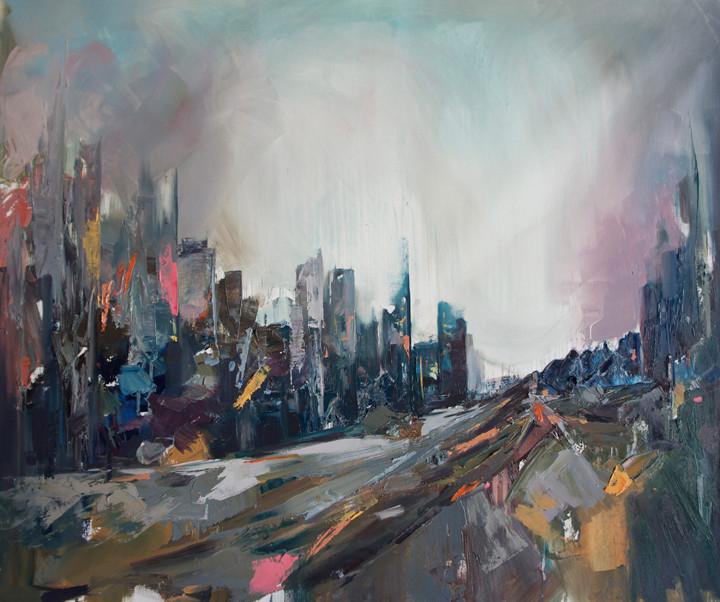 Internal Light nº 9 | Oil painting on canvas | 65 x 81 cm | 2015