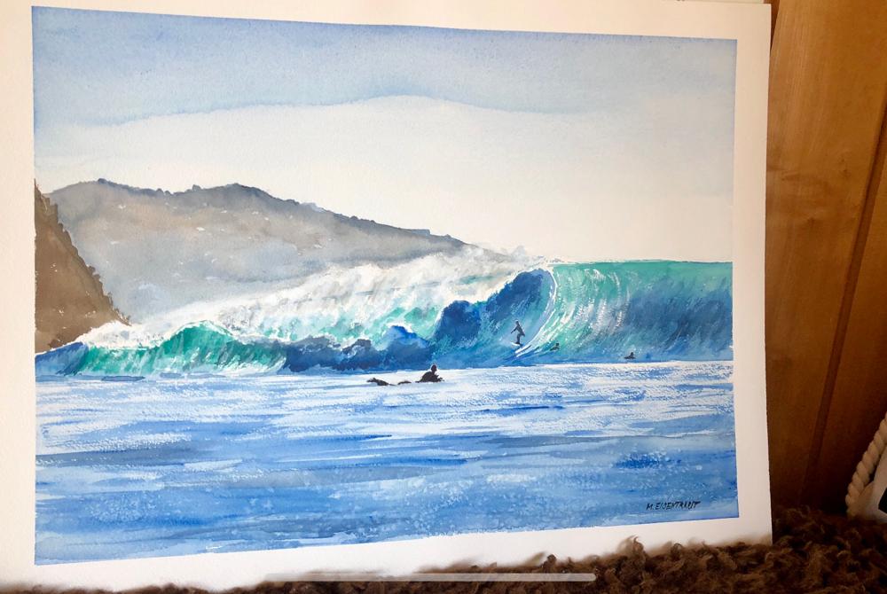 Surfspot Black's Beach San Diego CA
