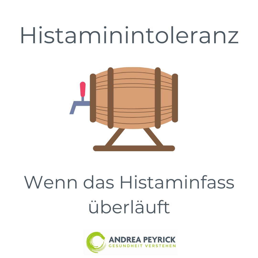 Histaminintoleranz - Wenn das Histaminfass überläuft