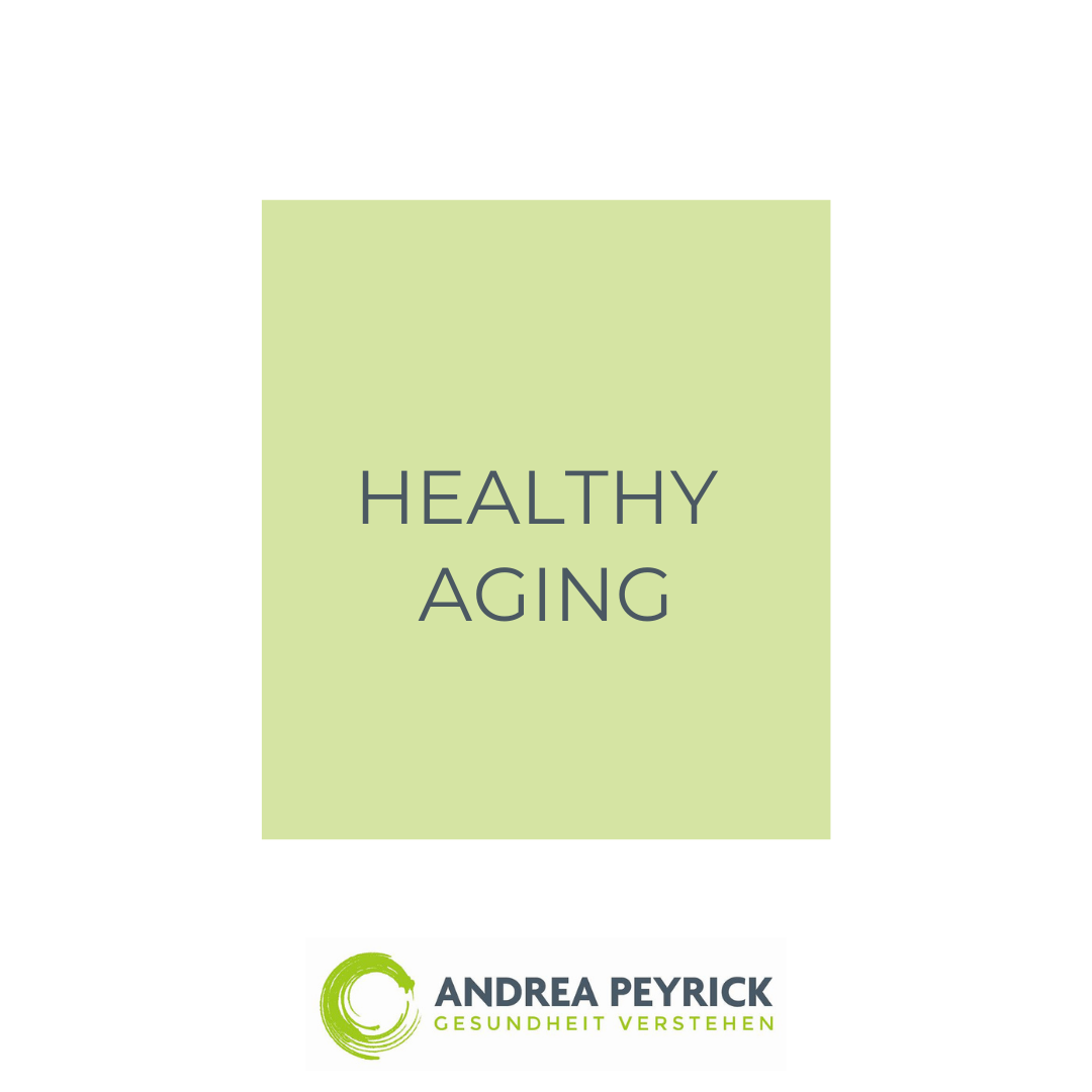 Healthy Aging - Lifespan, Healthspan und Longevity