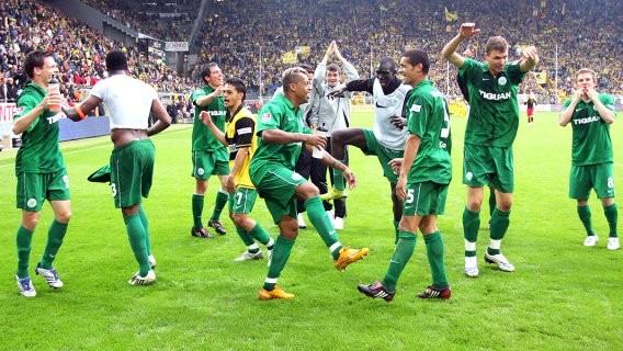 In dieser Saison gelang uns mit einem grandiosen Sieg in Dortmund der Einzug ins internationale Geschäft.