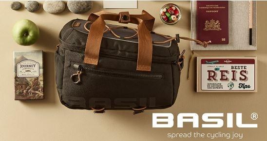schöne und praktisch die neue wasserdichte Taschenlinie von Basil