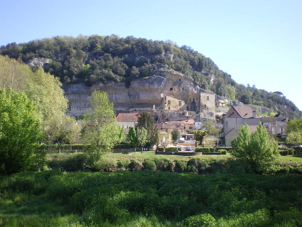 Le bourg des Eyzies-de-Tayac