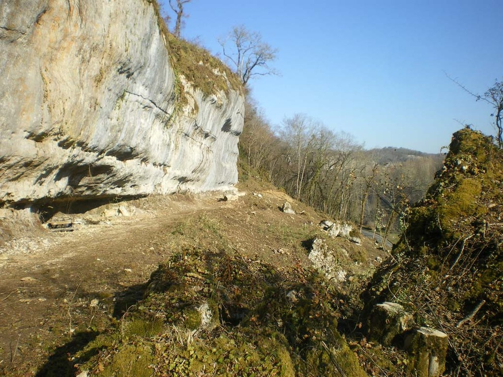 14 mars 2012 - partie basse du site