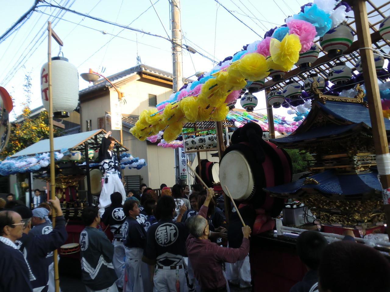 緒川祭禮(10月中旬開催)