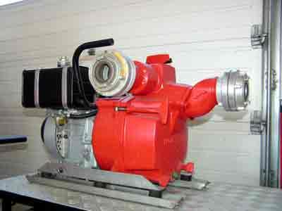 Unterwasserpumpe Jung U3K + KS | Wasserfördermenge: 1000 l/min