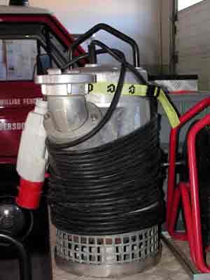 Unterwasserpumpe Homa 125 | Wasserfördermenge: 1200 l/min