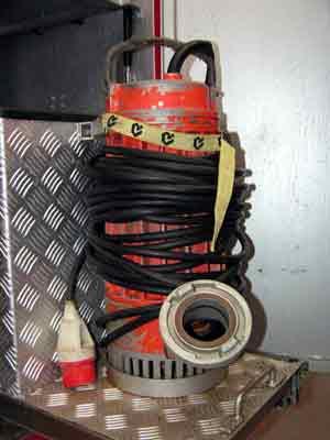 Unterwasserpumpe MAST T12 | Wasserfördermenge: 1200 l/min