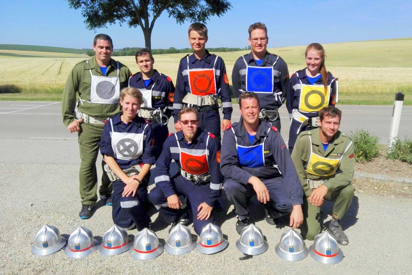 Mannschaftsaufstellung in Silber, Bildquelle: FF Ebersdorf