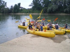 canoe sports activités eau
