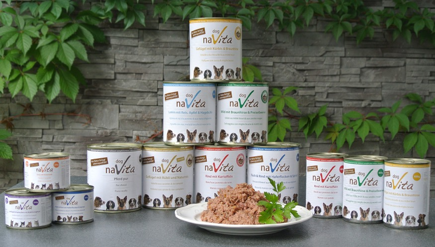 Artgerechte naVita-Fleischmenüs für Katzen und Hunde