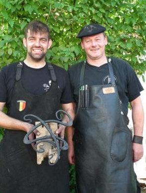 Vielen Dank an alle Teilnehmer der Meisterschaft: Andy Vermeersch (l.) und und Johann van Eenoo