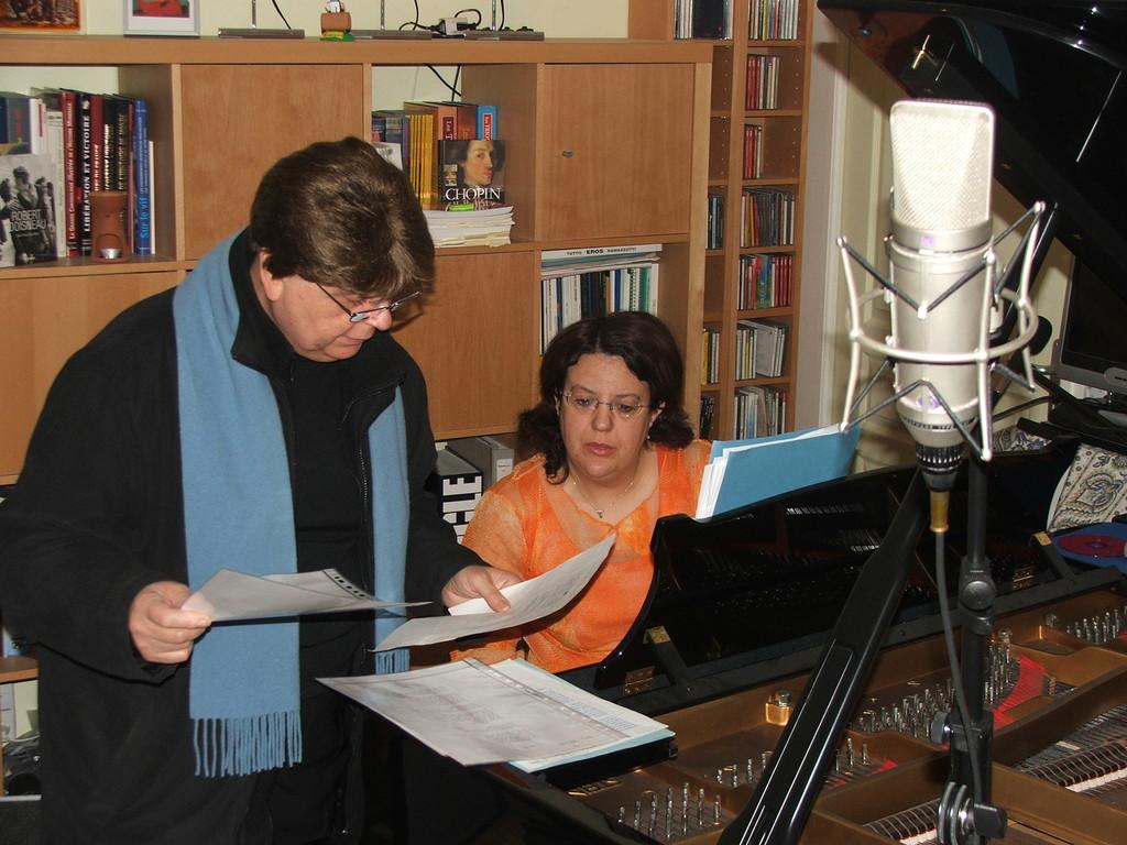 Enregistrement avec Serge ALLARY décembre 2006