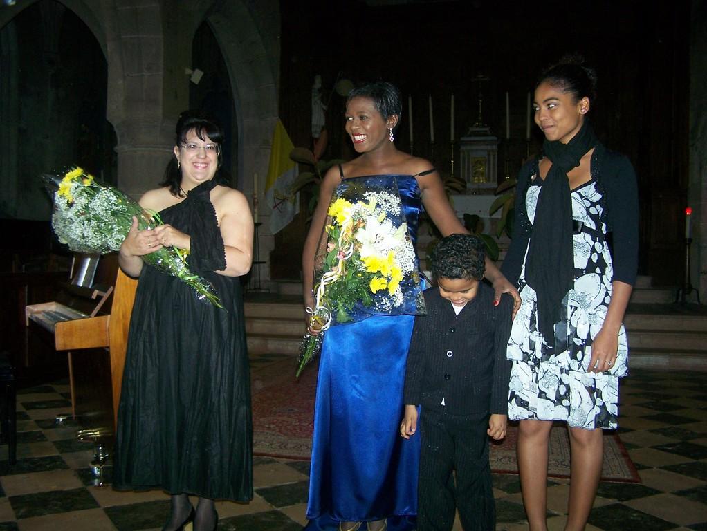 Récital avec Lydie PACE à Couches septembre 2009