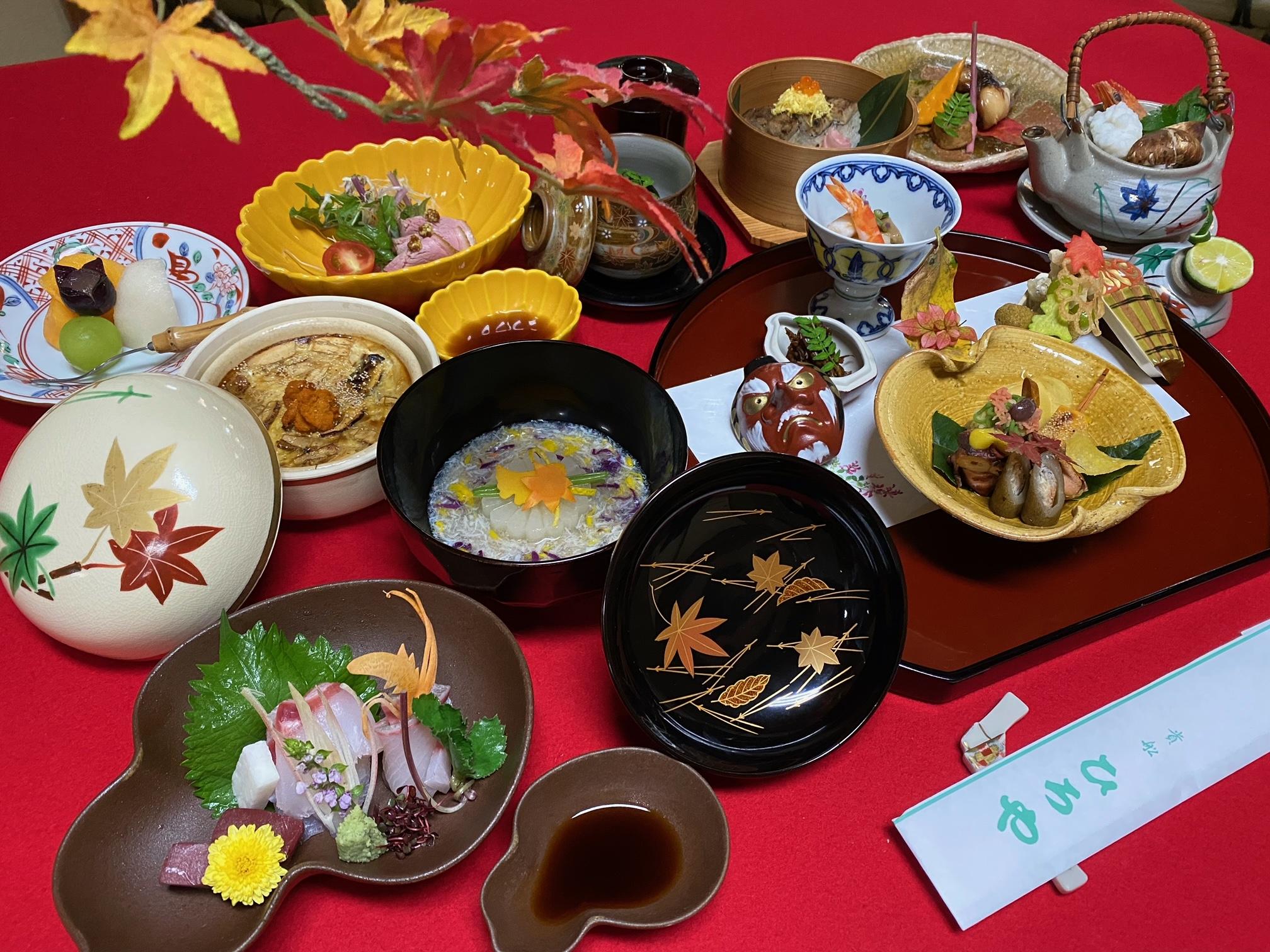 ご宿泊・玉(24,200円)の夕食