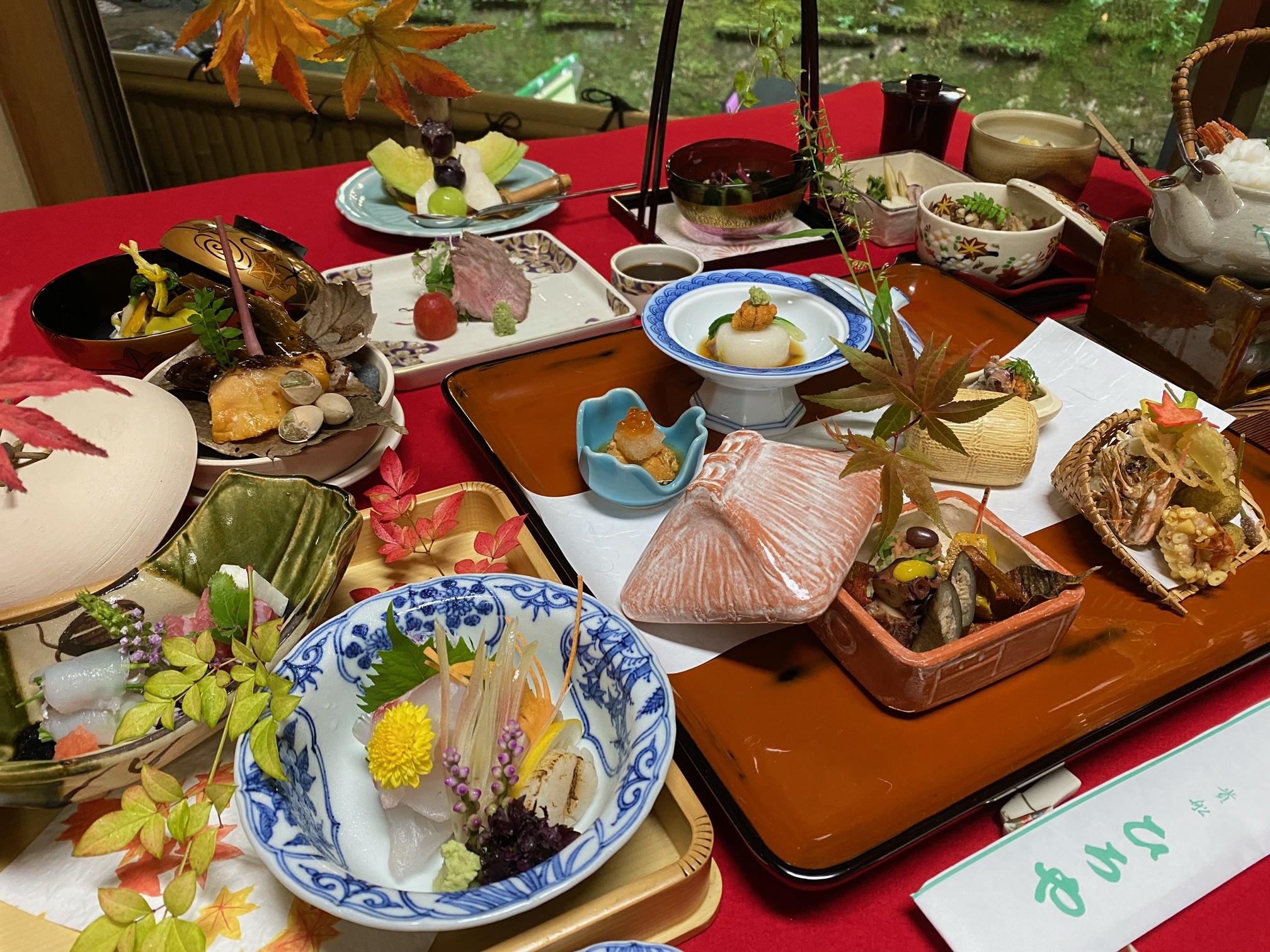ご宿泊・響(30,250円)の夕食