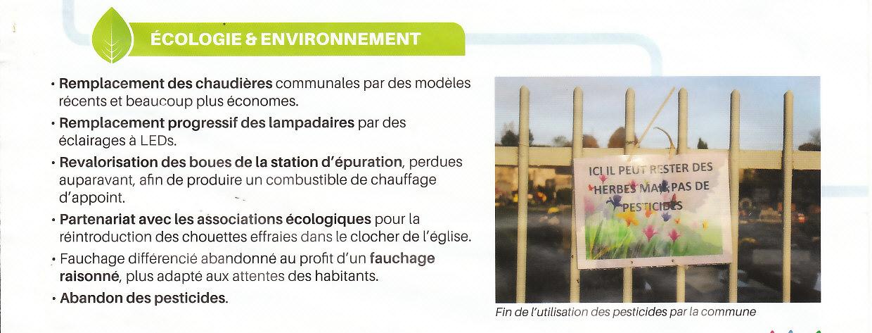 Septeuil le point sur l'Ecologie et Environnement