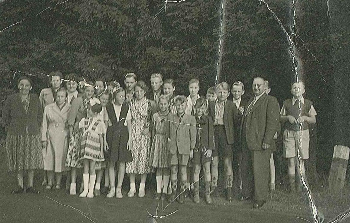 Schulausflug 1952
