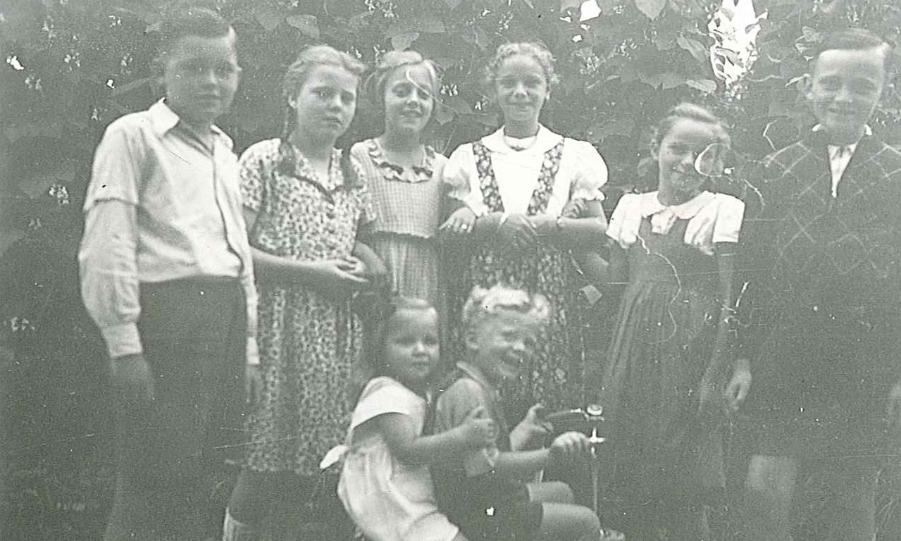 Helut und Otto Gerhards, Wilma und Horst Heuser