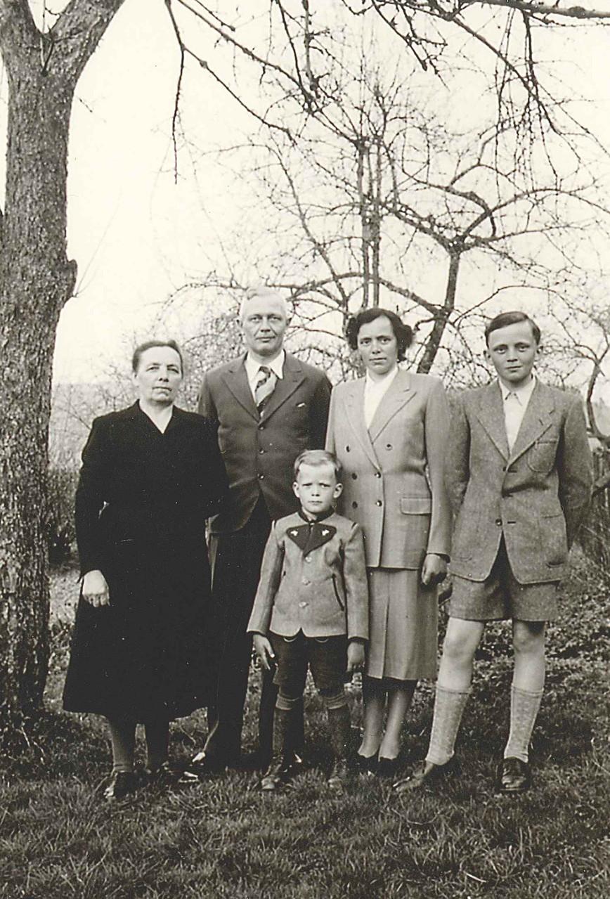 Familie Gerhards und Luise Römer