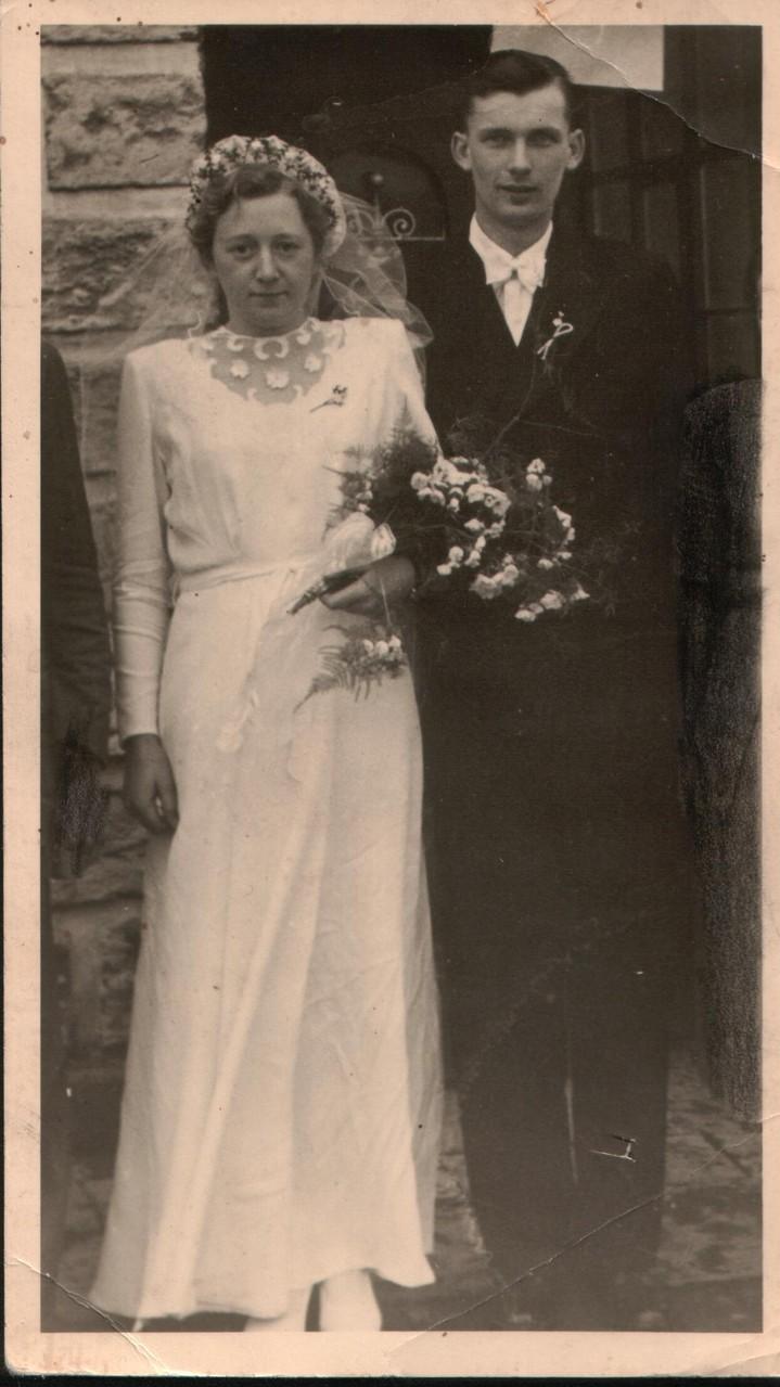 Hochzeit Hetti und Adolf Jacobs