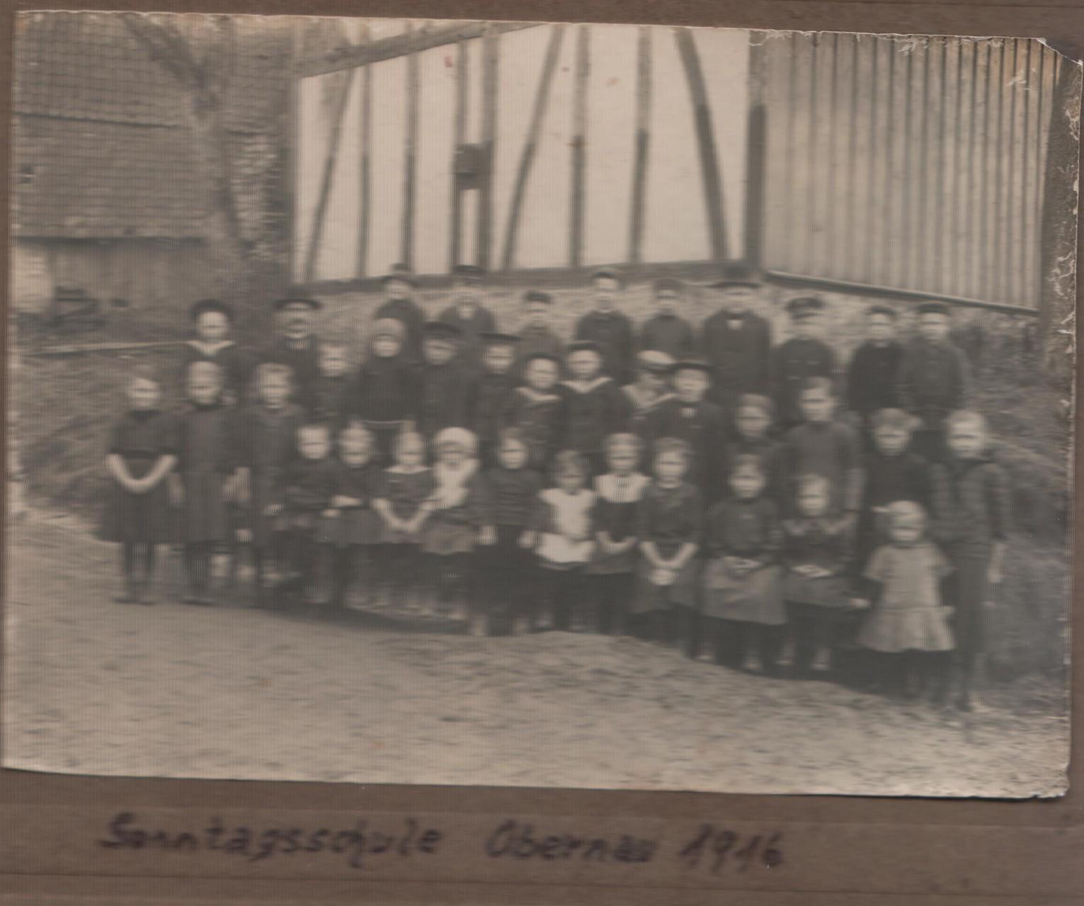 Sonntagschule 1916