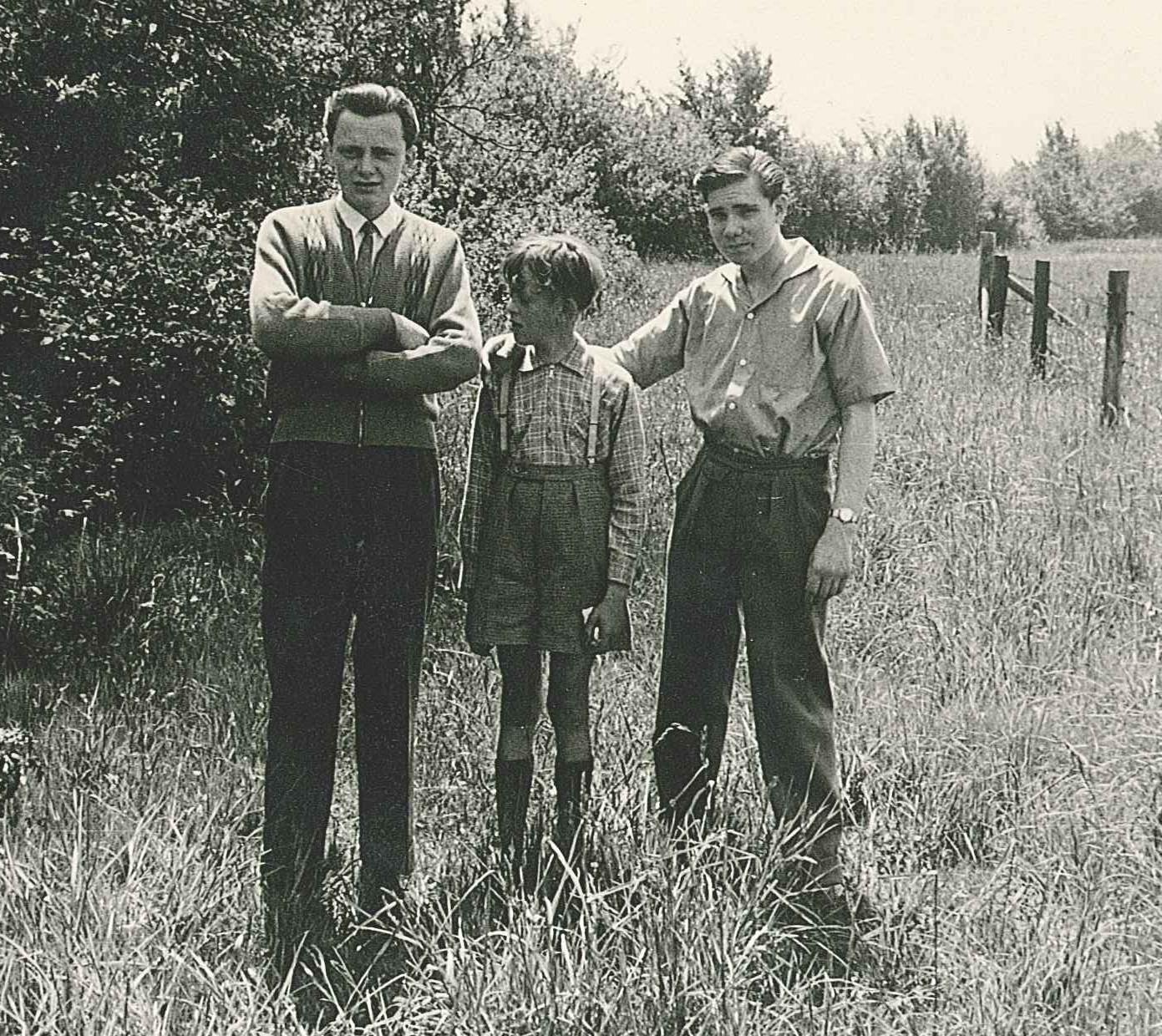 Manfred Schumacher und die Gerhards-Brüder