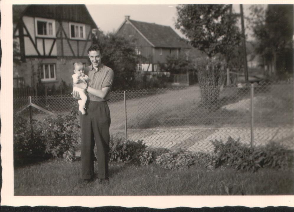 Willi Klein und Uwe (1958)