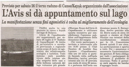 Corriere di Viterbo 23 Luglio 2008