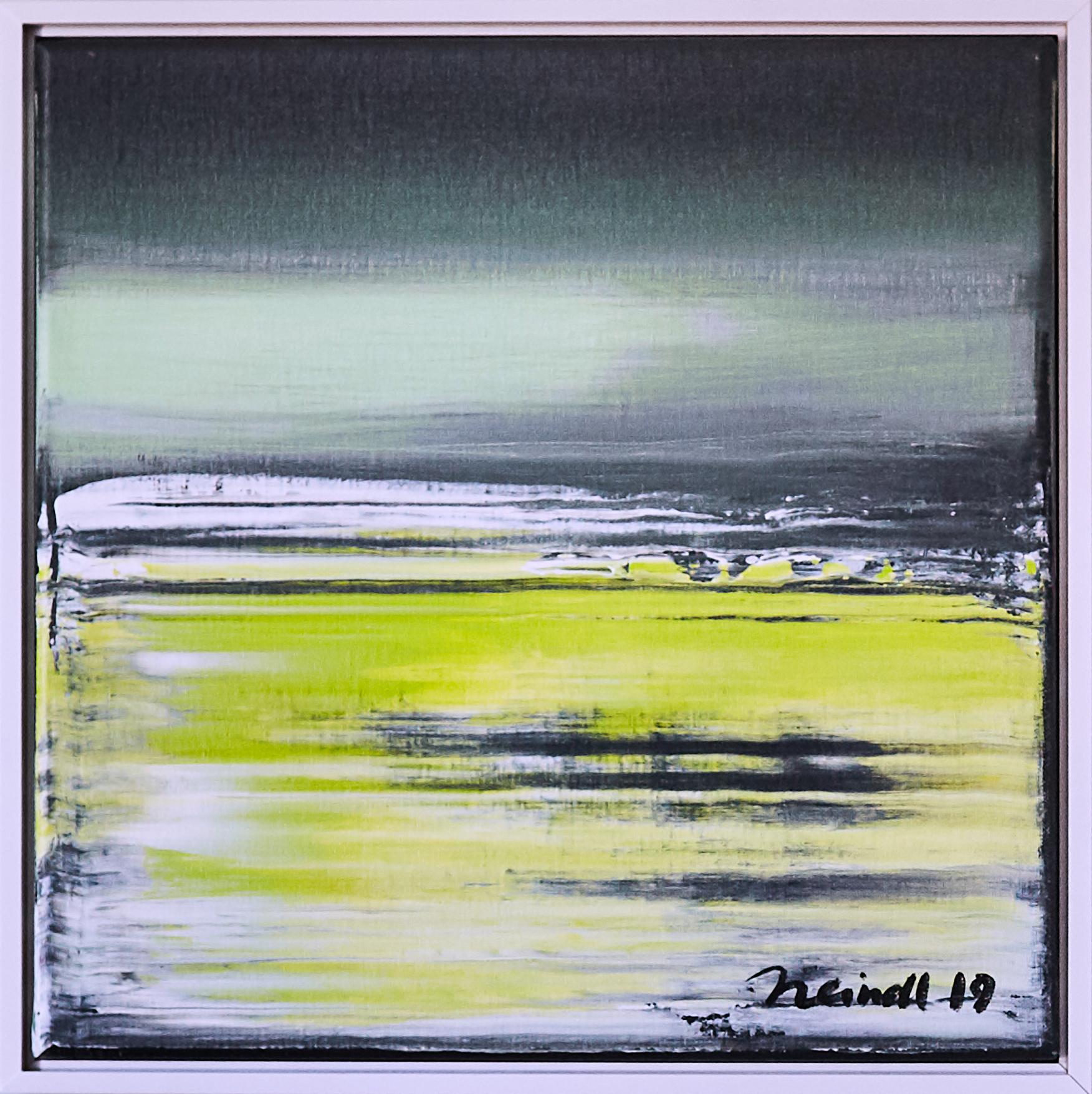 ›Sea‹, Acryl auf Leinwand, 43 x 43 cm, 2019