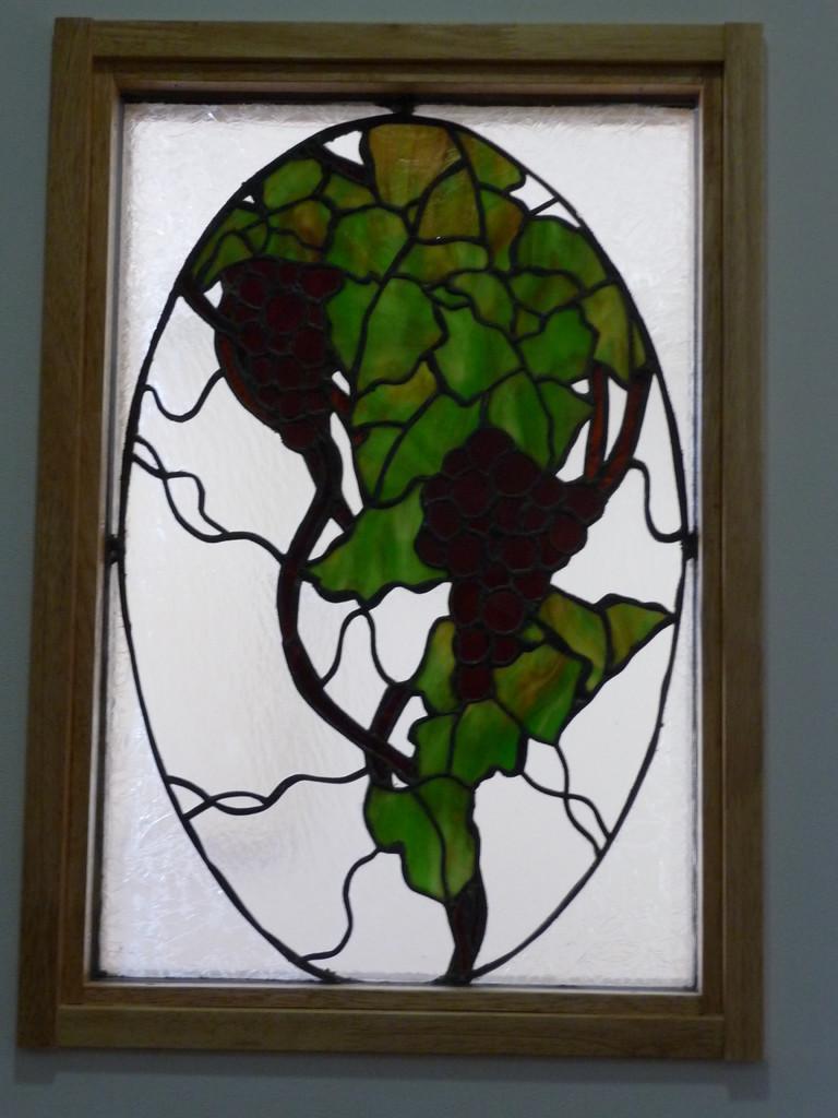 ホールステンドグラス「主はぶどうの木」
