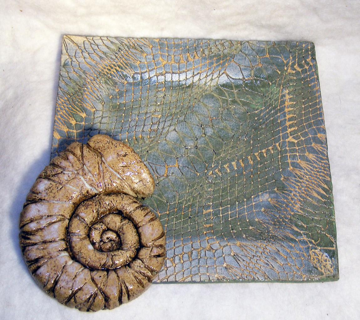 Reptilienteller u. Ammonit