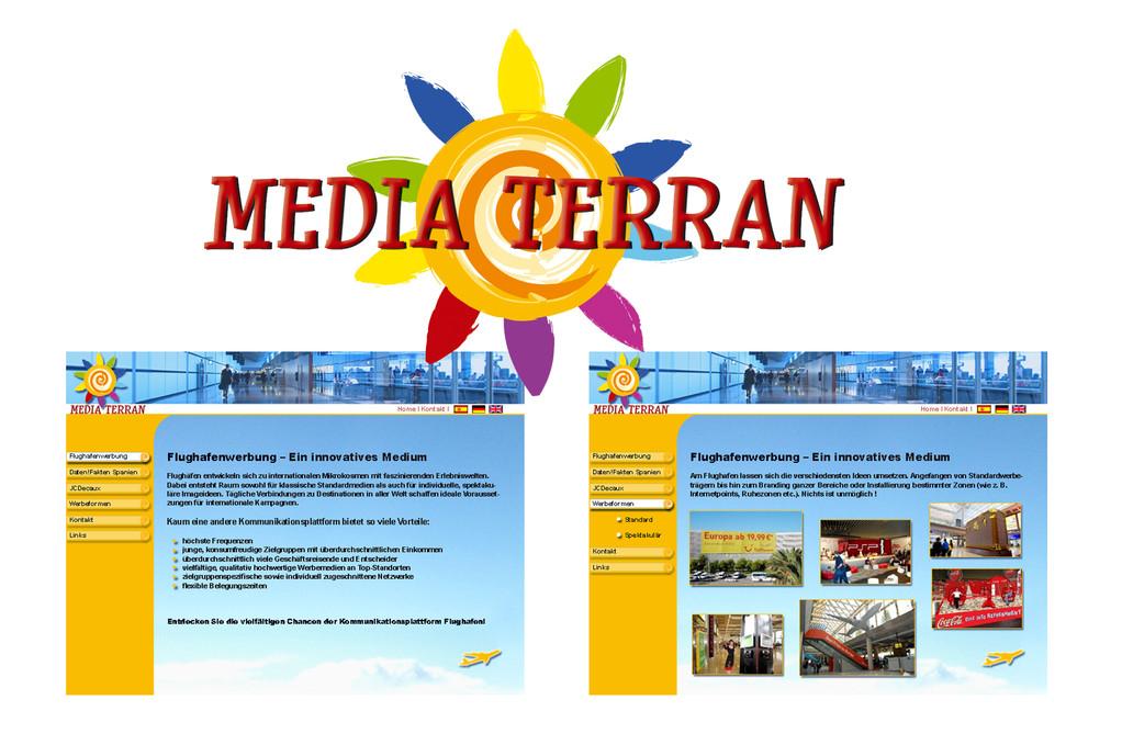 Mediaterran, Webdesign