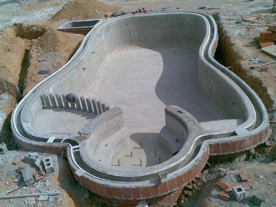 piscinas de obra en fortuna murcia