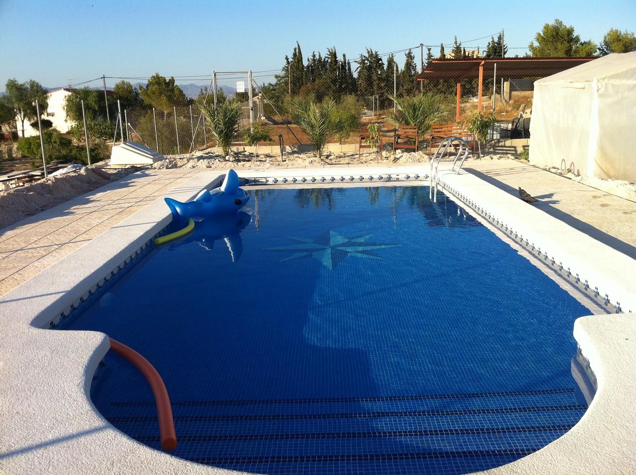 piscinas de obra en alcayna-murcia