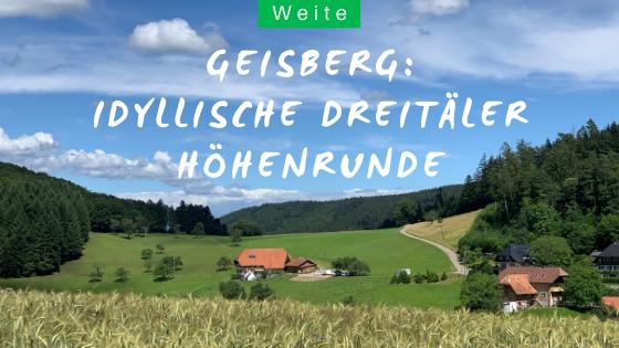 Geisberg Wanderung im Schwarzwald