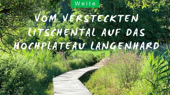Wandern im Schwarzwald auf den Langenhard bei Lahr